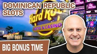 DOMINICAN REPUBLIC SLOTS!  Count Me IN @ Hard Rock Punta Cana!