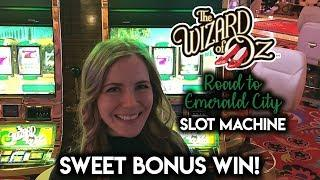Which is the better  CITY?  Emerald City or Sex and The City? SWEET Bonus WIN!!!