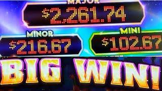 FANTASTIC RUN on Free Play - Ultimate Fire Link Slot Machine in Vegas!