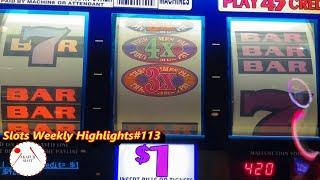 Slots Weekly Highlights#123 for You who are busy Fun Slots Fun Session!