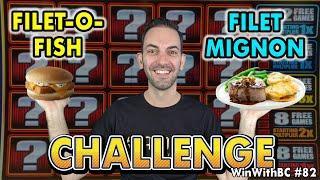 Filet-O-Fish or  Filet Mignon Slot Machine Challenge