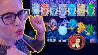 5 Dragons Gold Slot Machine Bonus Wins at Encore Las Vegas!