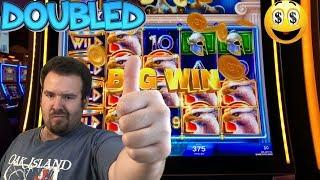 Griffin's Throne - MAX BET BIG WIN and DOUBLED IGT Slot Machine Live Play