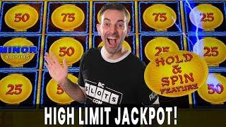 HIGH LIMIT Lightning JACKPOT Doesn't Get Much Better!  VEGAS SLOTS with BCSlots