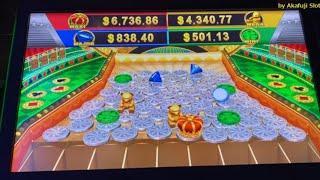 Surprise !! Fun to watch !! Slot Machine High Limit @ San Manuel Casino [40万円以上の大勝利] [赤富士スロット] カジノ