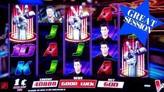 THE VOIC Slot Machine $6 Max Bet Bonuses Won   BIG WIN & GREAT SESSION