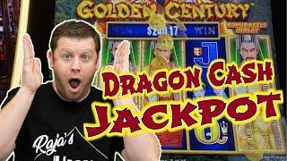 Epic Dragon Cash Bonus Round Jackpot - $25 Bet on Golden Century!