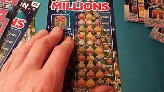 Merry Millions.....Scratchcard...and a Bonus Card...    in our One Card Wonder Game