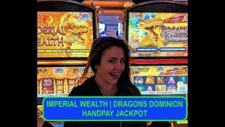 SURPRISE HANDPAY JACKPOT | Imperial Wealth Bonus + Retrigger | $30 bet