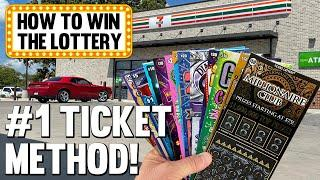 How to Win the Lottery  #1 TICKET METHOD  Fixin To Scratch