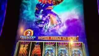 SG/Bally - DRAGON SPIN - RAINING WILDS BONUS - WINNER!!