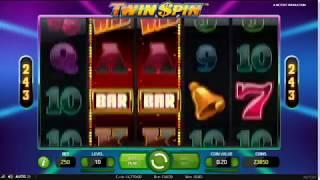 Twin Spin Slot Features & Game Play - by NetEnt