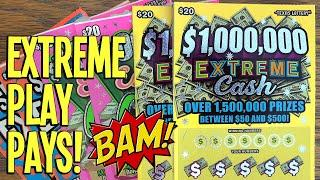 EXTREME PLAY PAY$  $200 EXTREME TICKETS  TEXAS LOTTERY Scratch Offs