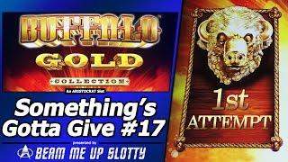 Something's Gotta Give #17 - Attempt #1 on Buffalo Gold Collection Slot by Aristocrat