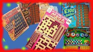 Scratchcards..£100 Loaded..MEGA CASHWORD..Cashlines .CASH DROP..& ..NAME THAT PIG..PRIZE DRAW STARTS