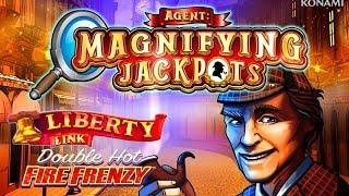 Agent Magnifying Jackpots  Double Hot Fire Frenzy  The Slot Cats