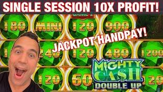 ️️ TWO BIG WINS, ONE JACKPOT,   HOT MIGHTY CASH DOUBLE UP!! | $9 BETS!
