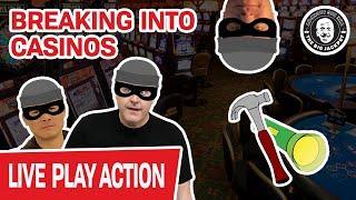 "LIVE! Breaking Into Casinos  ""I Need to Play Slots!"" - Raja"