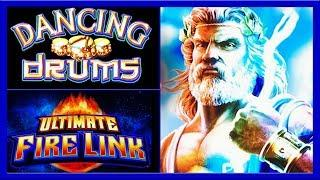 Dancing Drums Zeus Unleashed  Ultimate Firelink  The Slot Cats