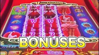 Bonuses: Munchkinland, Buffalo Gold Revolution, Emerald City slots