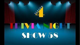 Thursday Night Trivia -LIVE - Show 58