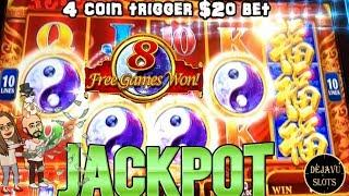LAST SPIN RETRIGGER PAYS OFF! JACKPOT HANDPAY HIGH LIMIT SLOT MACHINE