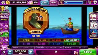 REEL 'EM IN Video Slot Casino Game with a CATCH THE BIG ONE 2 BONUS