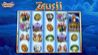 Zeus II w/ Super Hot Respin - Jackpot Party Casino Slots - Landscape 20sec