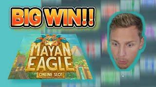 BIG WIN! MAYAN EAGLE BIG WIN - €10 bet on CASINO Slot from CasinoDaddys LIVE STREAM (OLD WIN)