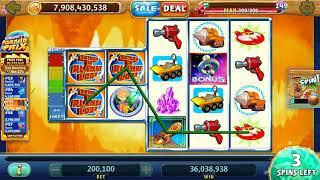"RETURN TO PLANET LOOT Video Slot Casino Game with a ""BIG WIN"" FREE SPIN  BONUS"