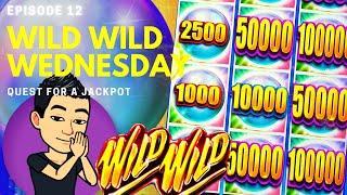 WILD WILD WEDNESDAY! QUEST FOR A JACKPOT [EP 12]  WILD WILD PEARL Slot Machine (Aristocrat)