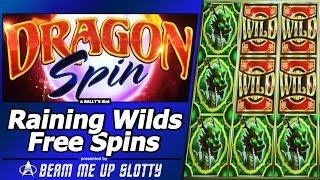 Dragon Spin Slot - Raining Wilds, First Look at New Bally's game