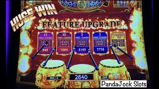 From a first spin bonus to a huge max bet win! Dancing Drums Explosion  Dancing Drums