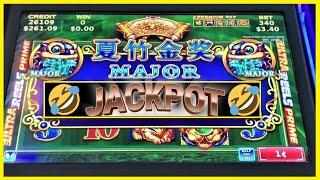 2 MAJOR LOL JACKPOTS! + I CALLED THE MOST RANDOM BIG WIN EVER! EPISODE 9 CASINO DU LAC LEAMY!
