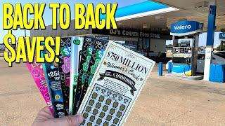 BACK TO BACK $AVES from Valero! Playing $180 in TEXAS LOTTERY Scratch Offs