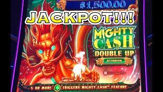 MIGHTY CASH DOUBLE UP: JACKPOT HANDPAY!