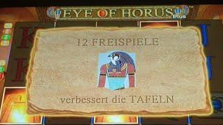 The Babo wieder mal zockenEye of Horus 1 Euro bis 4 Euro  Fach  FreispieleAction purMerkur 2020