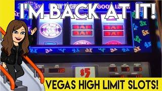 $50 Bets, Old School Pinball plus Double Top Dollar, 3x4x5x Slot Machine & More!  Aria High Limit
