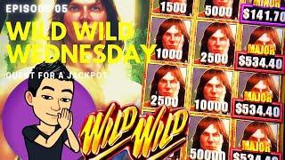 WILD WILD WEDNESDAY! QUEST FOR A JACKPOT [EP 05]  TARZAN GRAND Slot Machine (Aristocrat)