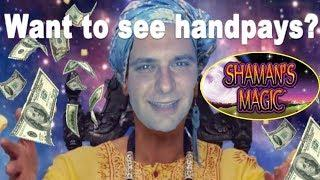 SHAMAN'S MAGIC  MS CLEO'S MAGIC!   BONUS  LIVE PLAY