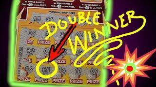 FANTASTIC SCRATCHCARD GAME..£500 LOADED..MONEY KINGDOM..CASH 7s DOUBLER..BLACK AND GOLD