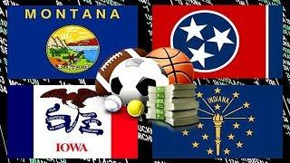 More and More States Legalize Sports Betting