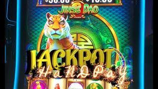 JACKPOT HANDPAY: Jinse Dao Tiger / Ox + Big Wins on Drop and Lock