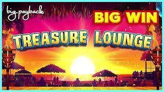 RARE BONUS!! Treasure Lounge Slot - BIG WIN SESSION!