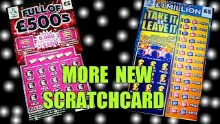 MORE NEW SCRATCHCARD..COMING SOON OR MAYBE IN SOME SHOPS NOW..WhooooOOOOOOO