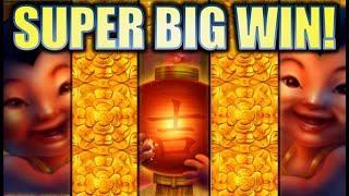 •SUPER BIG WIN! FULL SCREEN OMG BABIES!• FU DAO LE Slot Machine Bonus (SG)