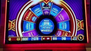 LIVE PLAY at Wonder 4 Slot Machine Buffalo | Bonuses Won