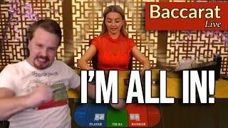 ALL IN OR NOTHING - Baccarat Live
