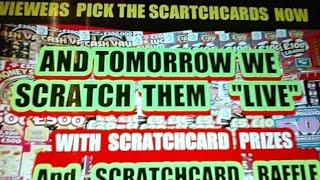 SCRATCHCARDS..VIEWERS PICK TONIGHT  ..WE SCRATCH TOMORROW