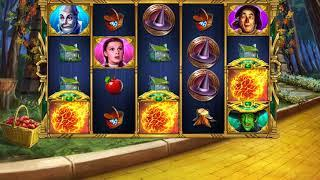 THE WIZARD OF OZ WICKED WITCH'S CURSE Video Slot Casino Game with a FREE SPIN BONUS